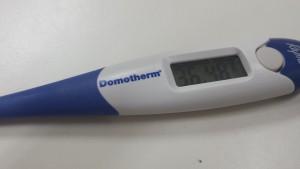 מדידת חום השחר - נשימה