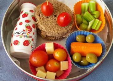 חזרה לבית ספר -חזרה לארוחות 10 בריאות