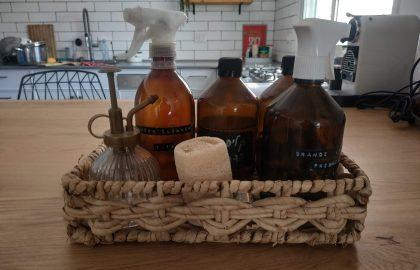 להיות טבעית גם בבית-סדנא להכנת חומרי ניקוי טבעיים